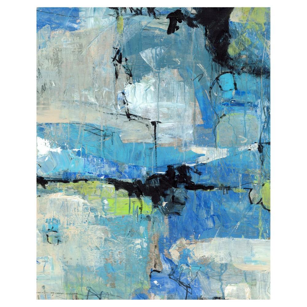 Spontaneous I Unframed Wall Canvas Art - (24X30), Multi-Colored