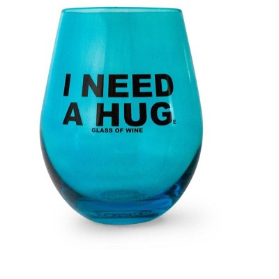 """Toynk """"I Need A HUGe Glass Of Wine"""" Stemless Wine Glass 