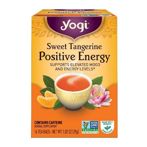 Yogi Tea - Sweet Tangerine Positive Energy Tea - 16ct - image 1 of 3