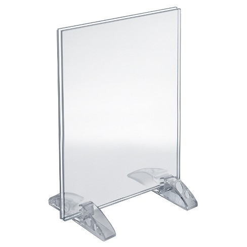 "Azar® 8.5"" x 11"" Dual-Stand Acrylic Sign Holder 10ct - image 1 of 1"