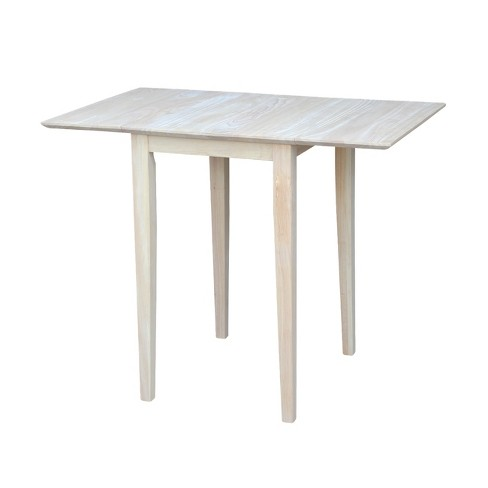 Drop Leaf Table Wood/Natural - International Concepts - image 1 of 10