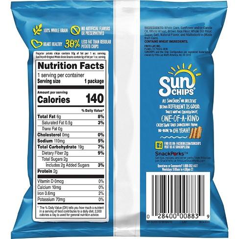 Sunchips Multigrain Chips Variety Pack 40ct Target