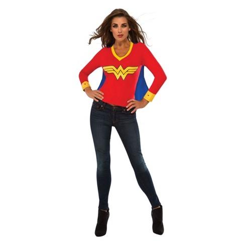Women S Wonder Woman Sporty T Shirt Halloween Costume Target