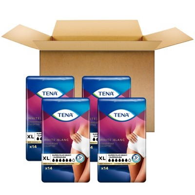 TENA Incontinence Underwear for Women - Super Plus Absorbency - XL - 56ct