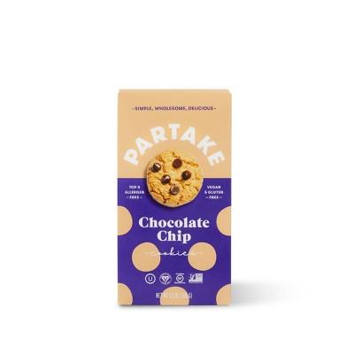 Partake Gluten Free Vegan Chocolate Chip Cookies - 5.5oz
