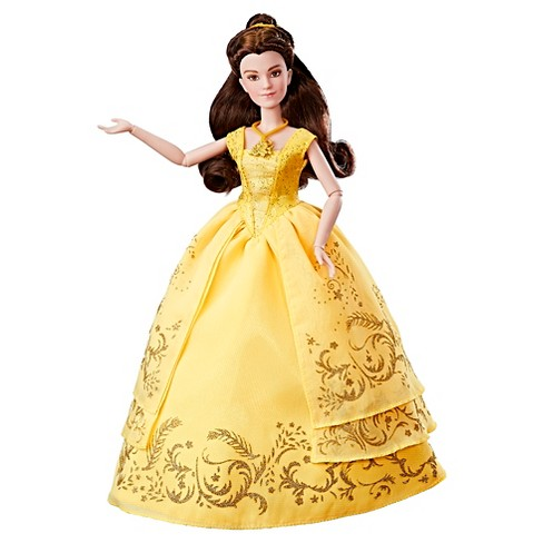 Disney Beauty and the Beast Enchanting Ball Gown Belle - image 1 of 14