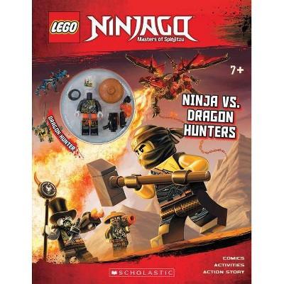 Ninja vs. Dragon Hunters (Lego Ninjago: Masters of Spinjitzu) - by Ameet Studio (Paperback)
