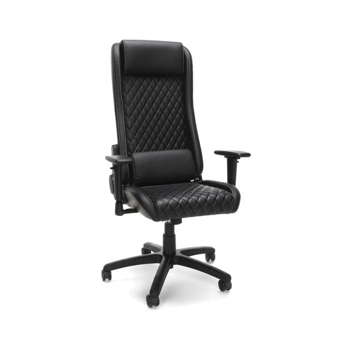 Reclining Gaming/Office Chair Black - RESPAWN - image 1 of 4