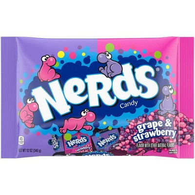 Nerds Halloween Grape and Strawberry Candy Variety Bag - 12oz
