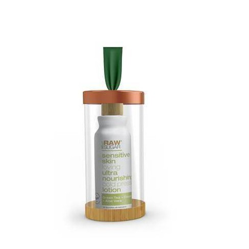 Raw Sugar Body Lotion Ornament Green Tea + Cucumber + Aloe - 3 fl oz - image 1 of 2