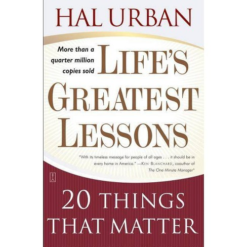 Life's Greatest Lessons - 4by Hal Urban (Paperback)