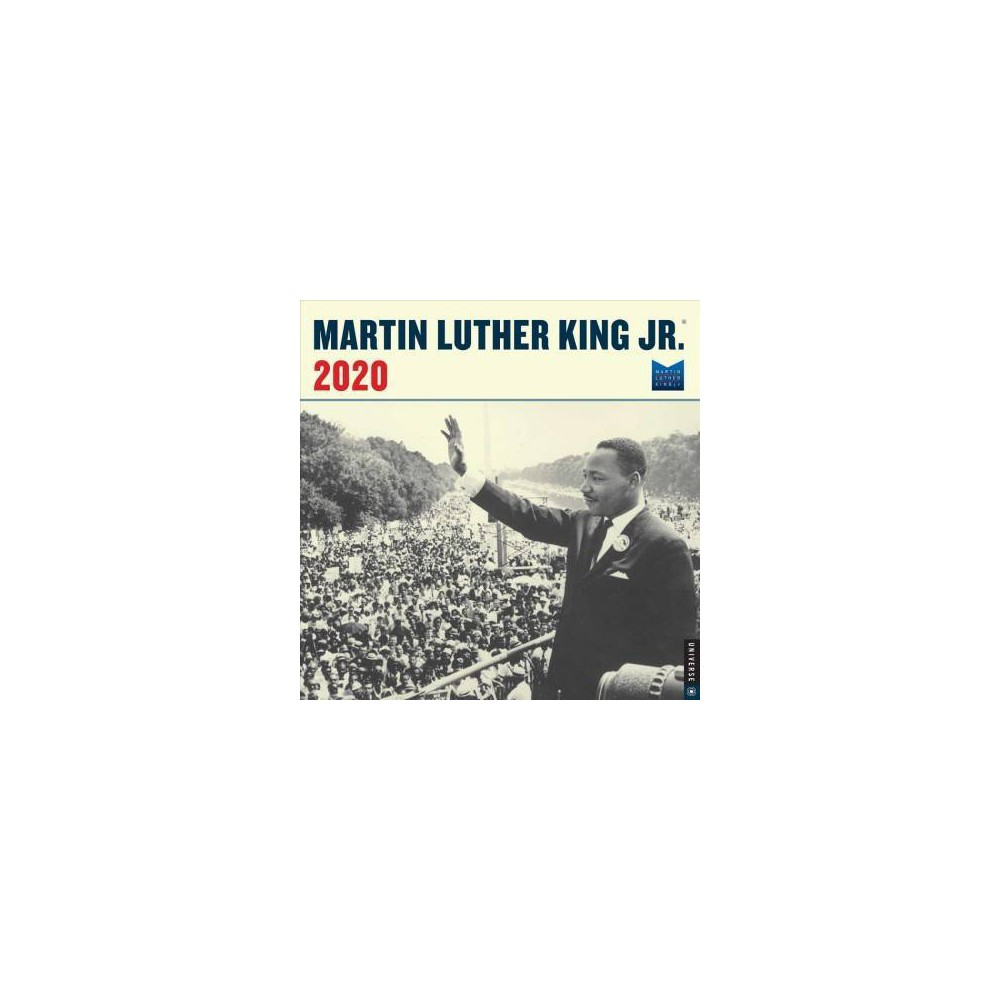 Martin Luther King, Jr. 2020 Calendar - (Paperback)