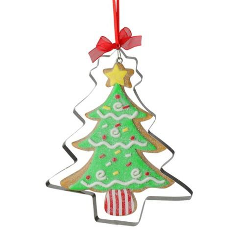 Gingerbread Christmas Tree.Kurt S Adler 5 25 Gingerbread Christmas Tree Cookie Cutter Holiday Ornament