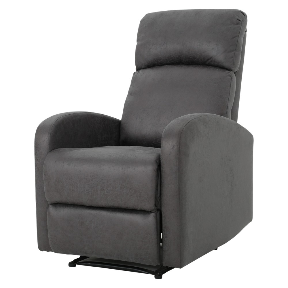 Gaius Recliner - Slate (Grey) - Christopher Knight Home