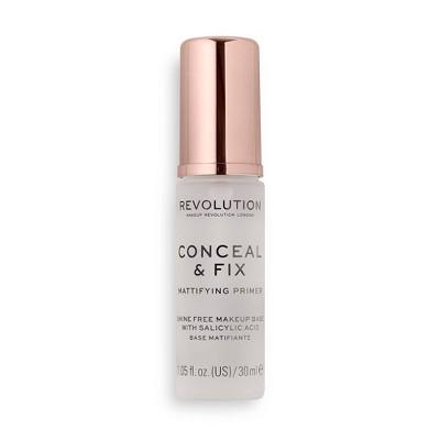 Makeup Revolution Conceal & Fix Mattifying Primer - 1.05 fl oz