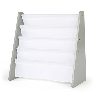 Inspire Collection Book Rack White/Gray - Humble Crew