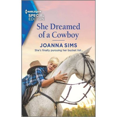 She Dreamed of a Cowboy - (Brands of Montana) by  Joanna Sims (Paperback)