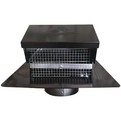 Builder's Best Builder's Best Black Metal Roof Vent Cap BDB012635