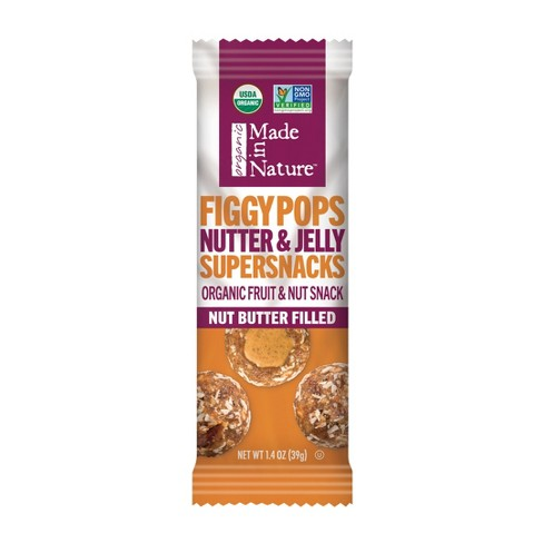 Made in Nature Nutter & Jelly Filled Figgy Pops - 1.4oz Bag - image 1 of 1