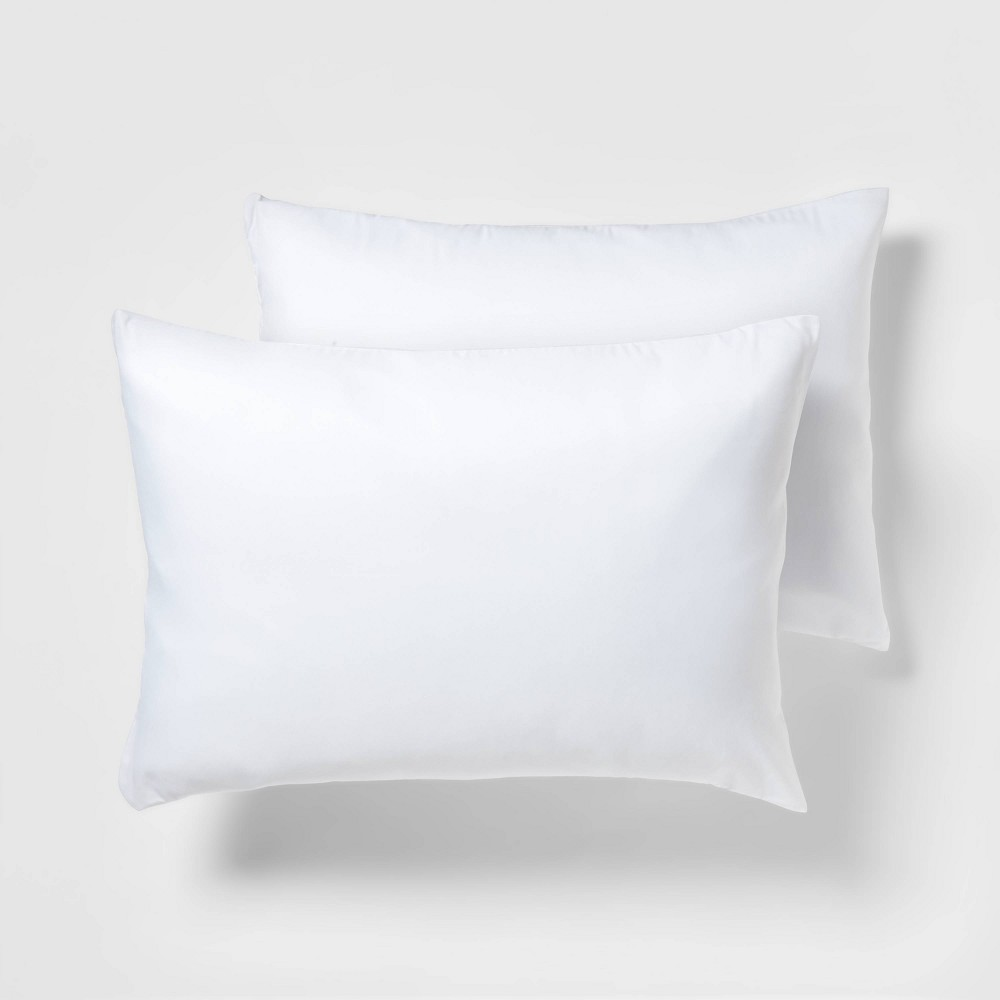2 Pack Pillow Protector White Standard Room Essentials 8482
