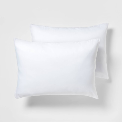 2 Pack Pillow Protector - White (Standard) - Room Essentials™ - image 1 of 4
