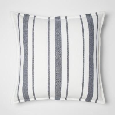 Blue Stripe Oversize Throw Pillow - Threshold™
