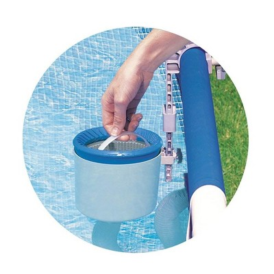 Pool Blaster Battery Powered Leaf Vacuum and Wall Mount Automatic Skimmer