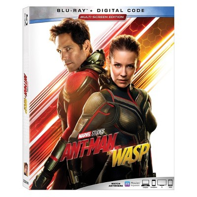 Marvel's Ant Man & The Wasp (Blu-Ray + Digital)
