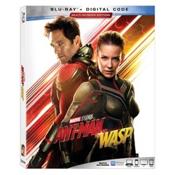 Marvel's Ant Man & The Wasp (Blu-Ray + Digital)
