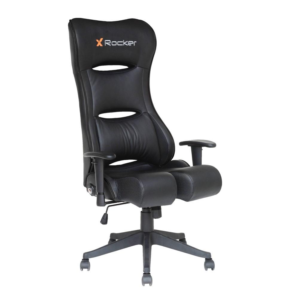 Image of 3pc Pcxr3 PC Gaming Chair Black - X Rocker