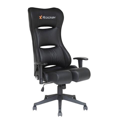 Stupendous Pcxr3 Pc Gaming Chair Black X Rocker Ibusinesslaw Wood Chair Design Ideas Ibusinesslaworg