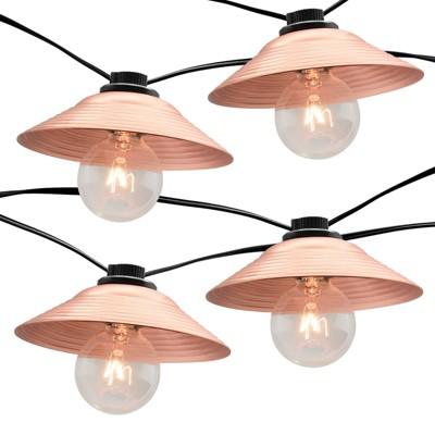 10ct Incandescent G40 String Lights Copper - Smith & Hawken™