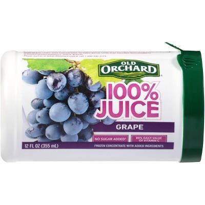 Old Orchard Frozen Grape Juice - 12oz