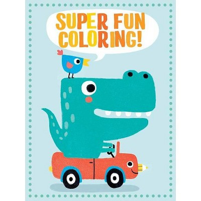 - Super Fun Coloring! (Green) - By Dover Publications (Paperback) : Target