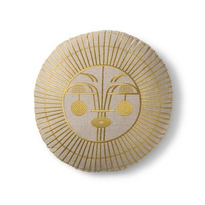 Yellow Ayo Sun Circle Throw Pillow - Justina Blakeney for Makers Collective®