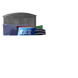 Urban Quarters Metal Panel Headboard - Full - Black Steel - Hillsdale Furniture