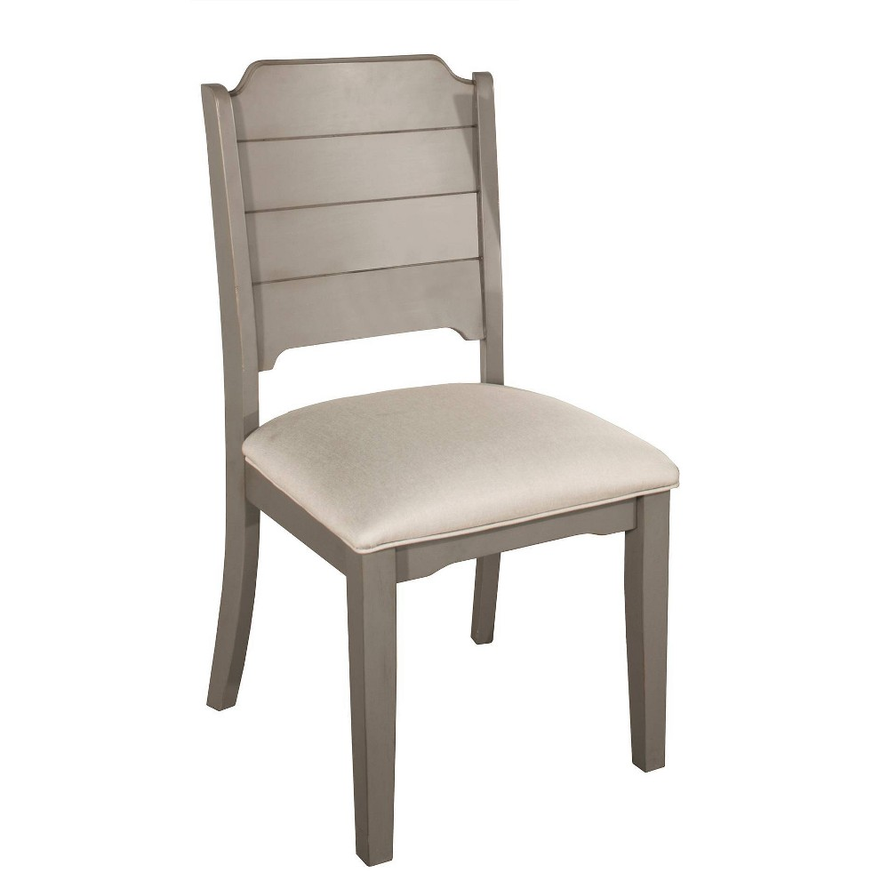 Set Of 2 Clarion Dining Chair Gray Hillsdale Furniture