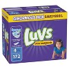 Luvs Disposable Diapers Ginormous Pack - (Select Size) - image 3 of 4