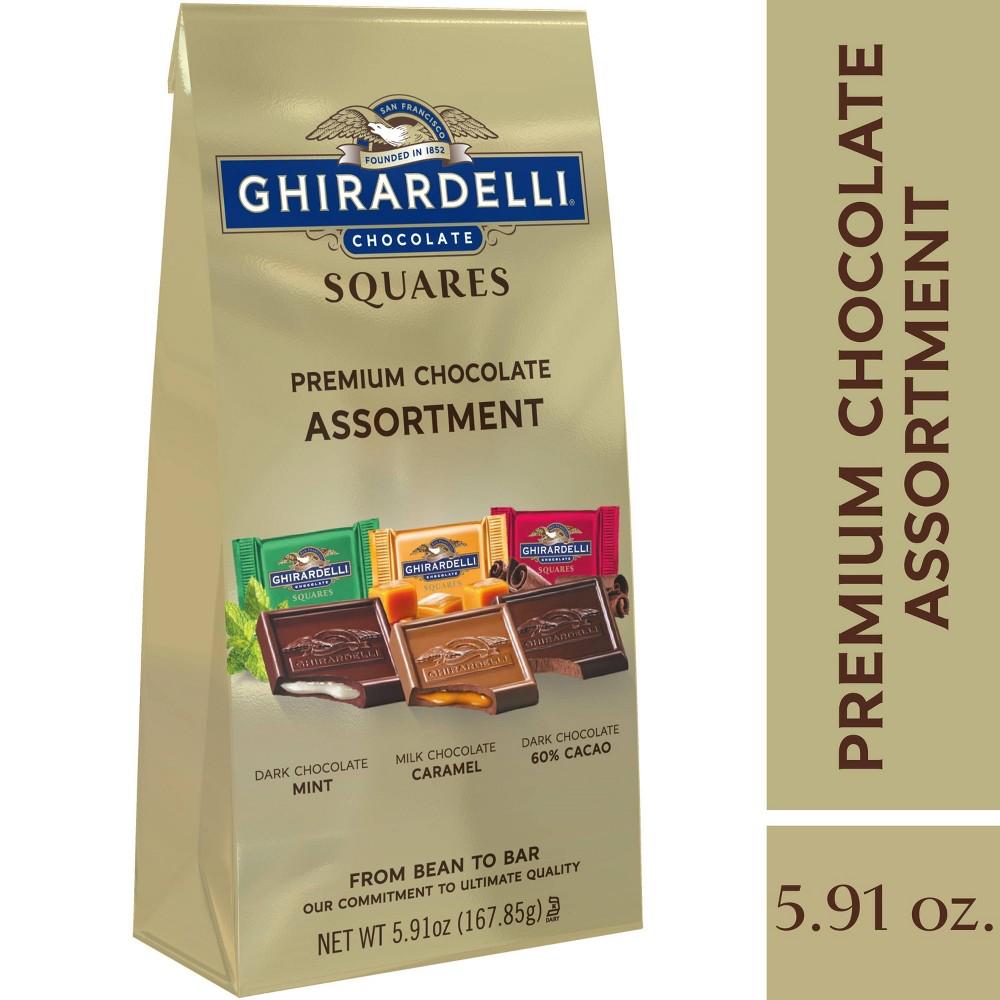 Ghirardelli Premium Assortment Chocolate Squares Bag 5 91oz