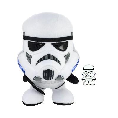 Seven20 Star Wars Stormtrooper Stylized 7 Inch Plush With Enamel Pin