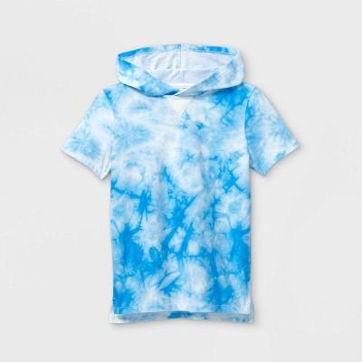 Boys' Short Sleeve Tie-Dye Hooded T-Shirt - Cat & Jack™