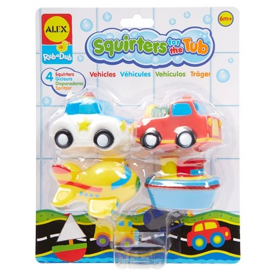 ALEX Toys Rub a Dub Bath Squirters Vehicles