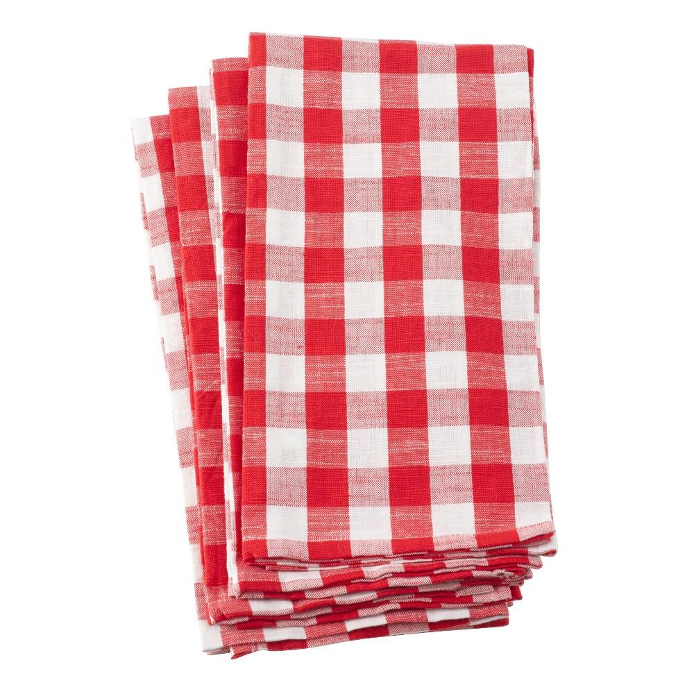 Kitchen Towel Red Saro Lifestyle