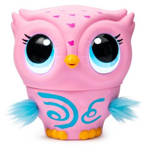 Owleez Interactive Pet - Pink - image 1 of 5