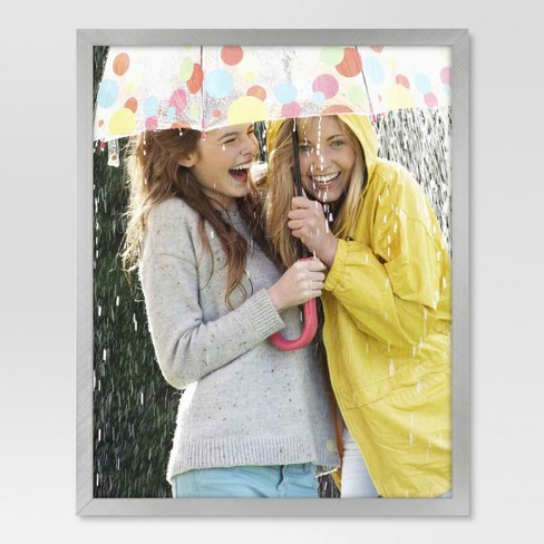 Metal Single Image Frame 8x10 - Brushed Silver - Project 62™ - image 1 of 4