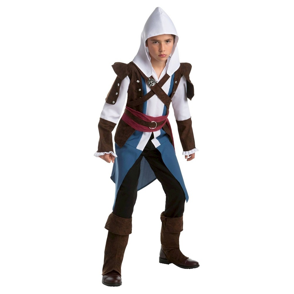 Image of Halloween Kids' Assassin's Creed Edward Classic Costume - X-Large, Men's, MultiColored