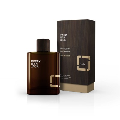 Every Man Jack Men's Sandalwood Cologne -  3.4oz