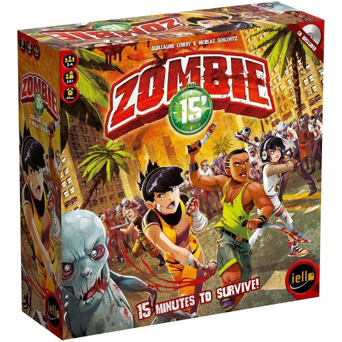 Zombie 15' Board Game - image 1 of 1