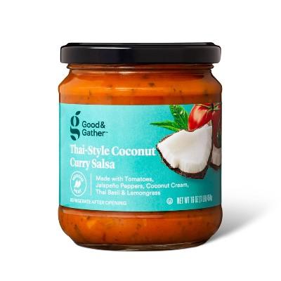 Medium Thai Coconut Curry Salsa - 16oz - Good & Gather™