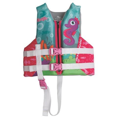 Coleman Puddle Jumper Child Hydroprene Life Jacket-Seahorse - image 1 of 1